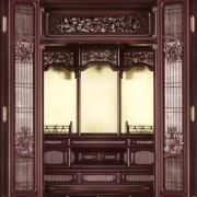 特選オリジナル仏壇「豊徳」 ー 欄間
