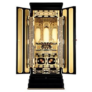 【西】浄土真宗本願寺派 様式「翼」京型 総金粉 ー 正面