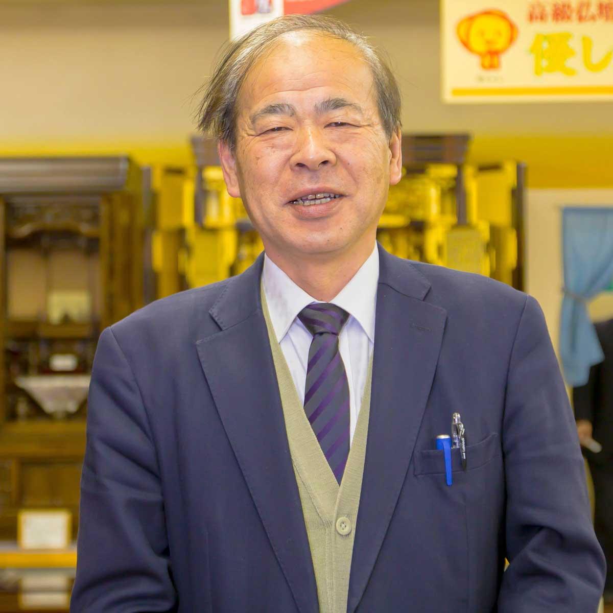 岸佛光堂津山店 店長 神谷 浩司さん