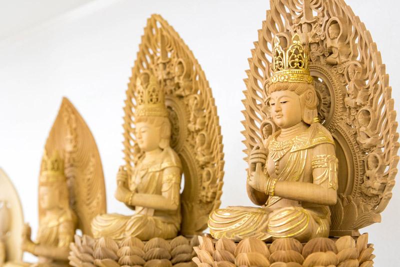 仏像コーナー