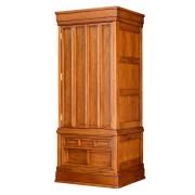 岸佛光堂オリジナル仏壇「秀光」板扉一枚型 ー 斜めから