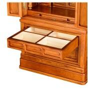 岸佛光堂オリジナル仏壇「秀光」板扉一枚型 ー 引出し