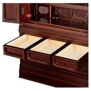岸佛光堂オリジナル仏壇「仏光」仕込壇 板扉型 紫檀系 ー 引出し