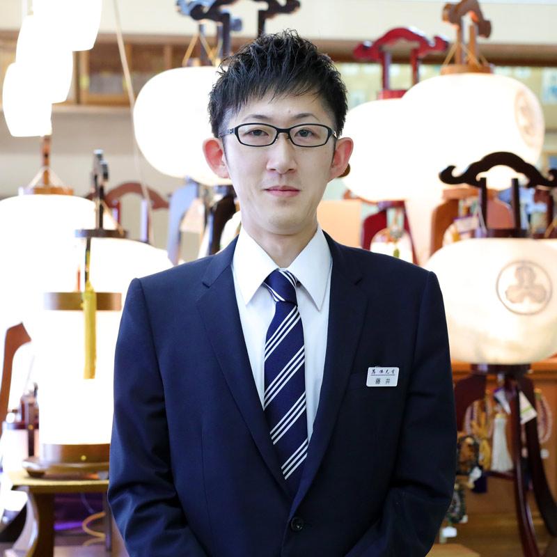 岸佛光堂倉敷店藤井さん